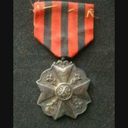 BELGIQUE : médaille de bronze de la décoration civique belge