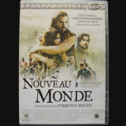 DVD le nouveau monde : un film sur la découverte du nouveau monde en 1607 avec Colin Farrell, Christopher Plummer, Christian Bale et Q'Orianka Kilcher (C64)