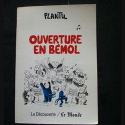 Ouverture en Bémol de Plantu d'octobre 1988 (C80)