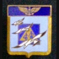 52 S : insigne métallique de l'escadrille aéronavale 52 S de fabrication Drago Olivier Métra M. 503 en émail