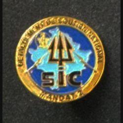 TRANS : insigne de la SIC, 2° Mandat, du détachement de soutien national (DSN) au Kosovo opération trident