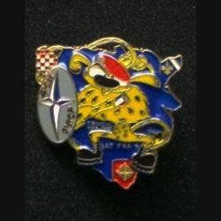 1° RCP : insigne de la 4° compagnie du 1° régiment de chasseurs parachutistes, SFOR BATFRA 4, de fabrication Ballard