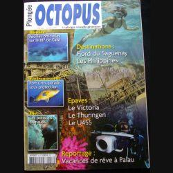 OCTOPUS N°15 mai - juillet 2014 : superbe revue d'Octopus n°15 sur la plongée nouvelle génération