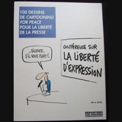 100 dessins de cartooning for peace pour la liberté de la presse de reporters sans frontières n°44