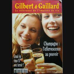 Revue  n°2 janvier, février, mars 2006 de Gibert et Gaillard sur le champagne : l'effervescence au pouvoir et sur les grands vins des terroirs (C68)