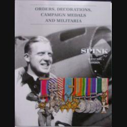 CATALOGUE SPINK : médailles militaires anglaises et du monde entier juillet 2014 (C65)