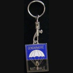 EPIGN : porte clefs de l'escadron parachutiste d'intervention de la gendarmerie nationale de dimension 3 x 4 cm