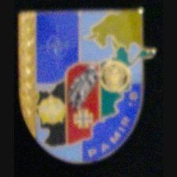 126° RI : insigne du 126° régiment d'infanterie opération Pamir 18° mandat de fabrication Boussemart 2008