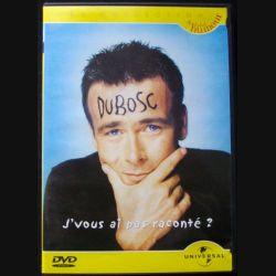 """DVD intitulé """" j'vous ai pas raconté """" film avec Franck Dubosc"""