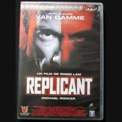 "DVD intitulé "" Replicant "" film de Ringo Lam avec Van Damme"