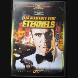 """DVD intitulé """" 007 les diamants sont éternels """" film de James Bond avec Sean Connery"""