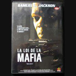 "DVD intitulé "" la loi de la mafia "" film avec Samuel L. Jackson"