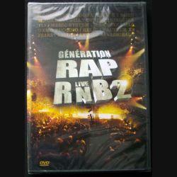 """DVD intitulé """" Génération Rap Live RNB2 """" film sur le concert enregistré à Paris Bercy le 18 décembre 2004"""