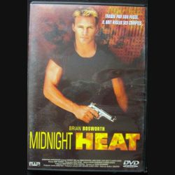 "DVD intitulé "" Midnight heat "" film avec Brian Bosworth"