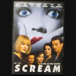 "DVD intitulé "" Scream "" film de Wes Craven"