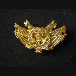 Brevet de commissaire ancrage Mer de niveau 1 de fabrication Béraudy et Vaure Ambert GS 267 doré