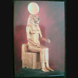 Magnet frigo représentant RA le Dieu du soleil égyptien