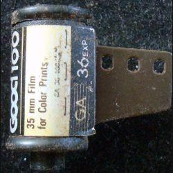 Magnet frigo représentant une bobine de film sunnycolor good 100