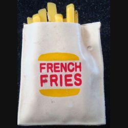 Magnet frigo représentant un cornet de french fries