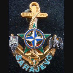 BATINF 4 des 2° et 3° régiment d'infanterie de marine à Sarajevo en 1996 de fabrication Drago