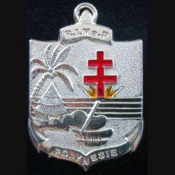 Régiment d'infanterie de marine de Polynésie Boussemart 2002 prestige argenté