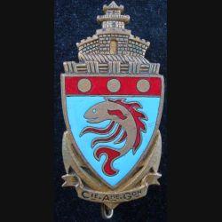 Compagnie autonome de garnison à Haïphong Arthus Bertrand Paris en émail