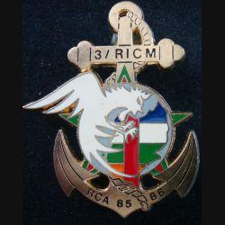 3° escadron du régiment d'infanterie et chars de marine en RCA 1985-1986 Delsart
