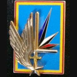 6° GHL : insigne du 6° groupe d'hélicoptères légers de fabrication Boussemart G. 4066