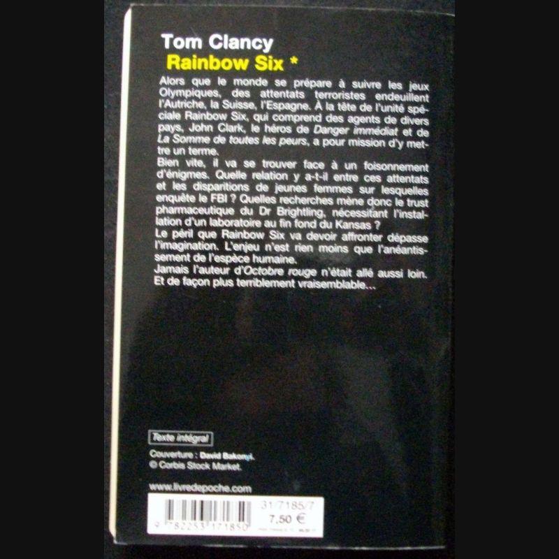 Roman policier Rainbow Six tome 1 de Tom Clancy