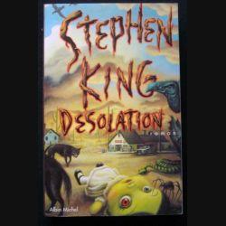 """LIVRE : roman """"Désolation"""" de Stephen King aux Editions Albin Michel"""