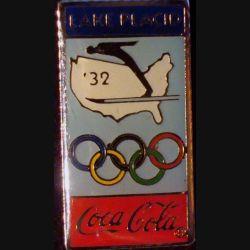 Pin's Coca Cola : pin's publicitaire de Coca Cola des jeux olympiques de Lake Placid 32