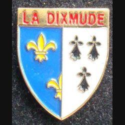 Pin's militaire : pin's du navire La Dixmude