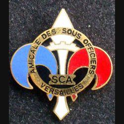 Pin's militaire : pin's de l'amicale des sous officiers du service central des approvisionnements de Versailles