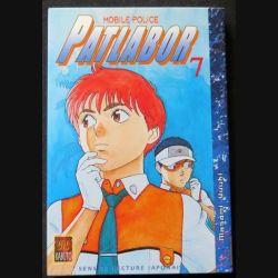 MANGA : livre de Patlabor mobile police tome 7 sens de lecture japonais