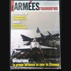 Armées d'aujourd'hui ADA N°398 mai 2015 Focus sur le groupe aéronaval au coeur de Chammal