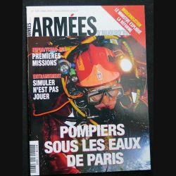 Armées d'aujourd'hui ADA N° 330 mai 2008 Focus sur les pompiers sous les eaux de Paris