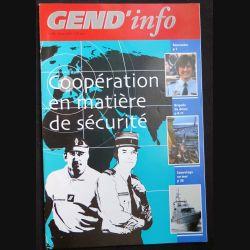 Gend Info : revue de la gendarmerie n° 293 de Janvier 2007
