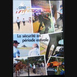 Gend Info : revue de la gendarmerie n° 328 de Juillet - Août 2010 traite de la sécurité en période estivale