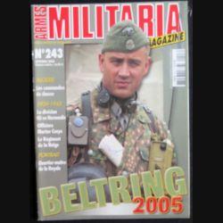 """MILITARIA MAGAZINE n°243 Novembre 2005 : excellente brochure avec comme thème central """" les commandos de chasse """" et """" Beltring """" (C91)"""