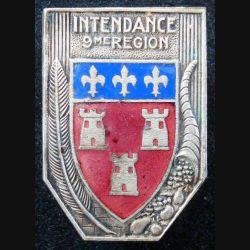 9° région militaire de fabrication Drago rue Béranger en émail