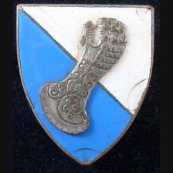 6° Division Blindée sans nom de fabricant avec défaut d'émail