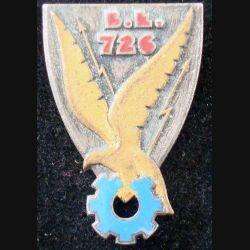 BE 726 de fabrication Drago A. 591 en émail avec infime éclat et épingle coupée
