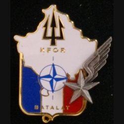 BATALAT : insigne du bataillon de l'aviation légère de l'armée de terre (BATALAT) de la KFOR  de fabrication Pichard Balme