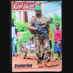 Képi Blanc : revue du Képi Blanc n° 782 de décembre 2015 sur l'opération Sangaris