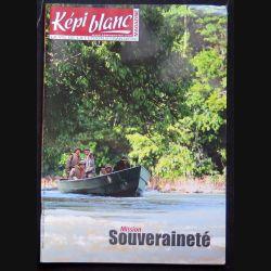 Képi Blanc : revue du Képi Blanc n° 778 de juillet 2015 sur mission souveraineté
