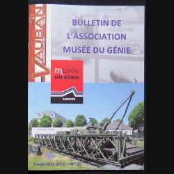 Bulletin de l'association musée du génie de décembre 2015