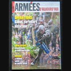 Armées d'aujourd'hui ADA N° 402 novembre 2015 Focus sur les opérations au Gabon