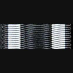 ALLEMAGNE  : Ce ruban de l'ordre de la croix de fer allemande a une longueur de 14 cm et une largeur de 2,4 cm