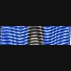 BELGIQUE  : Ce ruban de l'ordre de Léopold de Belgique a une longueur de 14 cm et une largeur de 3,7 cm
