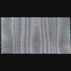 Ce ruban de Grand Officier l'ordre de l'étoile noire du Bénin a une longueur de 1,40 m et une largeur de 5,4 cm